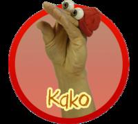 Oobi Kako Noggin Nick Jr TV Series Show Hand Puppet
