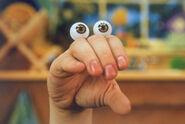 Oobi Nick Jr Noggin TV Series Show Hand Puppet Character 1