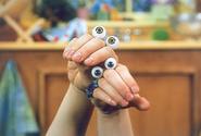 Noggin Oobi Uma Hand Puppets Characters Nick Jr. Nickelodeon 2003