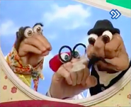 Oobi Dasdasi Hand Puppet Show - Parents and Grandpa