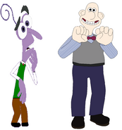 Fear and Wallace switch clothes