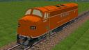 Locomotora F7 SBC