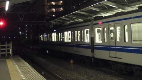 西武鉄道 6000系(6155F・アルミ戸袋窓あり)副都心線対応車