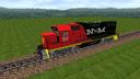 Locomotora NdeM GP 38