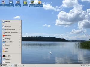 ReactOS screenshot