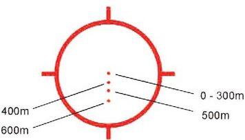 Eotech 557 bullet drop