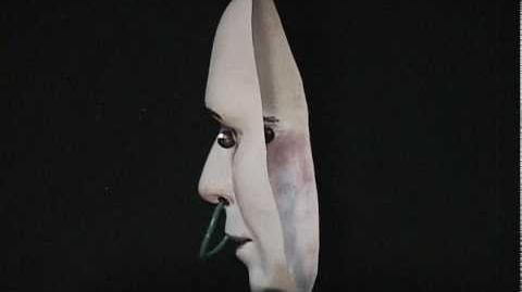 3D Hollow Face Illusion with Rolling Eyes