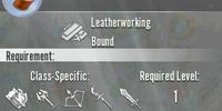 Anti-magic Leather Roll