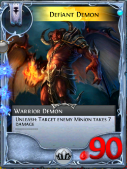 Defiant Demon