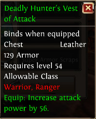 Deadly hunters vest of attack
