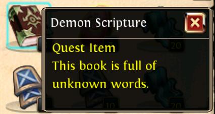 Demon Scripture