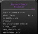 Swamp Fury Sword