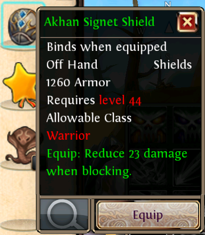 Akhan Signet Shield