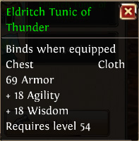 Eldritch tunic of thunder