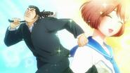 Takeo heading to confess to Satou