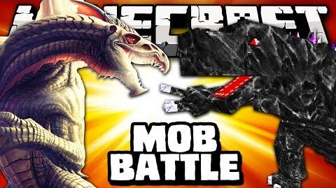 THE KING VS MOBZILLA - Minecraft Batalha de Mobs - OreSpawn Mod