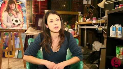On the set of 'Orphan Black' with star Tatiana Maslany