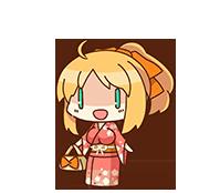 Aika Kanazaki chibi