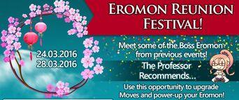 Eromon Reunion Festival