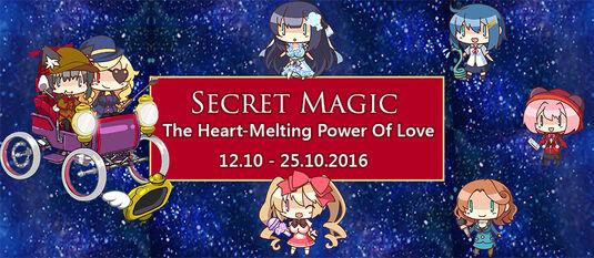 Secret Magic Banner