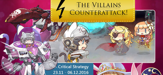 The Villains Counterattack Banner