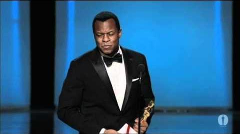 "Geoffrey Fletcher winning Best Adapted Screenplay for ""Precious"""