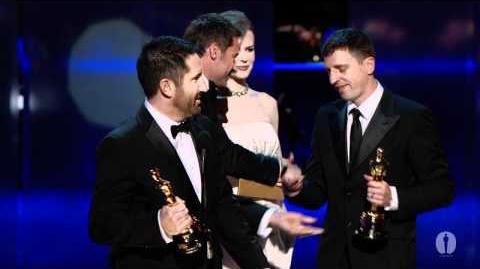 """""""The Social Network"""" winning Best Original Score"""