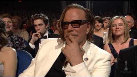 "Sean Penn winning Best Actor for ""Milk"""