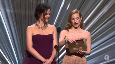 """""""Amour"""" winning the Oscar® for Foreign Language Film"""