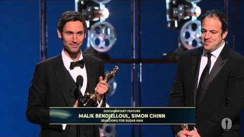 """""""Searching for Sugar Man"""" winning Best Documentary Feature"""