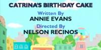 Catrina's Birthday Cake