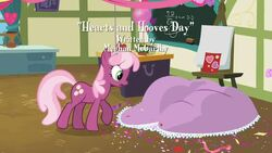 Hearts and Hooves Day Title Card