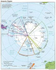 Antarctic region pol 95