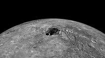 Mercury north pole