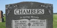 Shirley Irene Jamieson Chambers