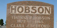 Clara J. Bedford Hobson