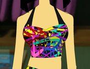Spraypaint Swimsuit Top avatar