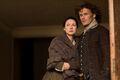 Outlander Episode 213- Caitriona Balfe (as Claire Randall Fraser) Sam Heughan (as Jamie Fraser)