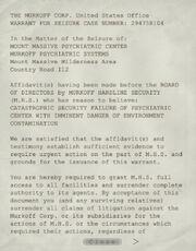 Warrant for Seizure 1-2