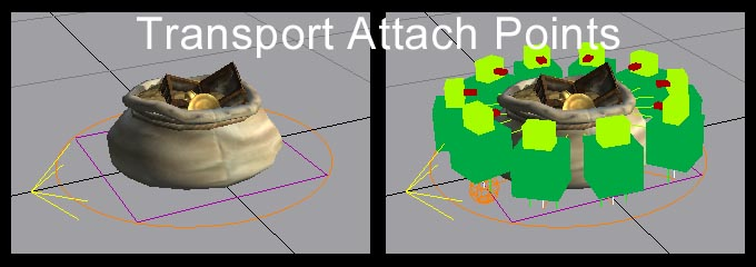 OL Object Attach Points