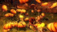 Evil Pumpkins Combat