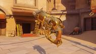 Roadhog sand golden scrapgun