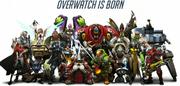 Overwatch is Born concept art