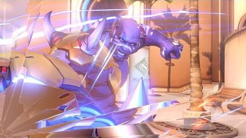 Overwatch Doomfist highlight intro - One Punch