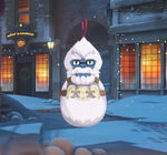 Winter Wonderland - Winston - Ornament spray