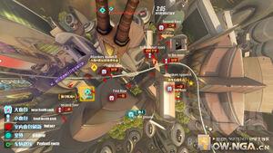 Numbani overhead map 2