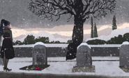 Gérard's grave