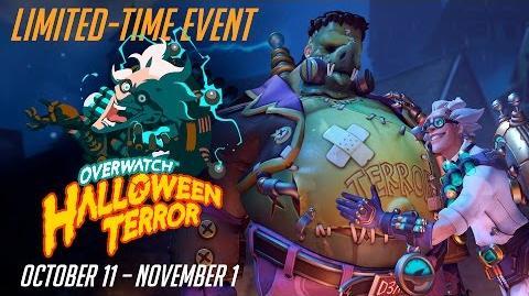 NEW SEASONAL EVENT Welcome to Overwatch Halloween Terror!