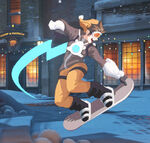 Winter Wonderland - Tracer - Snowboarding spray