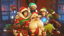 Winter Wonderland Menu Torbjorn Mei Tracer Lucio McCree